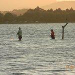 Pescadores en la Laguna de Abaixo