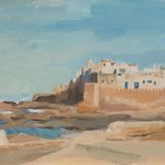 my painting of Essaouira!