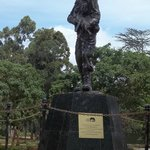 A statue within the KWS Headquaters
