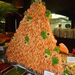 Magnifique pyramide de crevettes