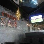 The outside bar area