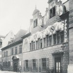Das alte Zunfthaus stand von 1450 bis 1899 an der Gerbergasse