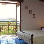 Kamelia, double bedroom and balcony with amazing sea view