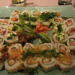 Special mix Sushi roll Platter