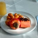 frutas do desjejum