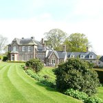 The Old Vicarage sits in 6 acres of garden and woodland