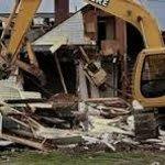 HUTTLESTON HOUSE razed