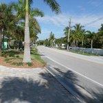 Gulf Blvd - leading to resort