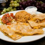 Quesadillas  (available with beef, chicken, or shimp)