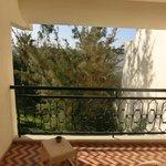 beperkt uitzicht vanaf de hotelkamer