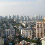 Вид на город с 25 этажа