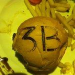 The branded bun burger