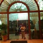 Front Entrance of the hotel