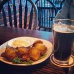 Delicious crab and corn fritters
