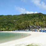 Excellent beach (very calm water)