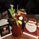 The Taverness Caesar - 3oz's & 13 garnishes including a grilled cheese sandwich!!