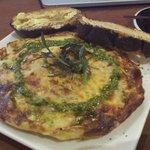 Great chorizo omelette