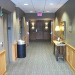 Clean & quite corridors.