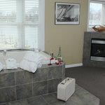 Harbor Grand, also called Antares Suite, with a Jacuzzi that looks down the channel.