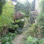 Lovely gardens around guesthouse