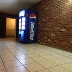 Soda machine and Ice machine in Corridor