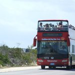 The bus to Pilar/Cayo Coco