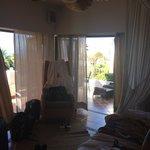 Bedroom with Window doors
