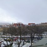 Вид на центр Праги