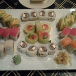 Our latest sushi dinner at Akashi! Yummy!!