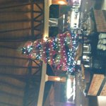Christmas Tree in the main buffet
