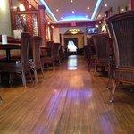 Front dinning room ....oriental yet Modern...