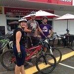 great day out with Bikestop espresso.