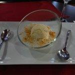 """Dessert """"chè chuôi"""" (perles de tapioca à la banane)"""