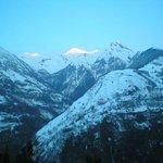 vue sur le plus haut sommet de la Vallée d'Aspe