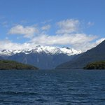 General view from Te Anau Lake