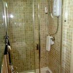 """En suite shower in the """"Garden"""" room"""