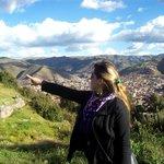 Vista a la ciudad de Cuzco