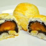 Sweet Red Bean with duck yolk Pastry