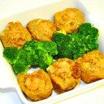 Golden Tofu with Pork Stuffed