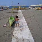 la spiaggia di forte