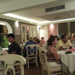 Bistrot Caraibes' recently remodeled dining room
