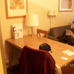 Foto de Mesa dentro de la habitación.