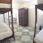 Dorm Room with lockers