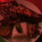 Small lobster for BZ$25 plus 10%tax..delicious for fair price!
