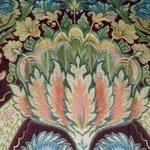 the bedspread pattern---beautiful!