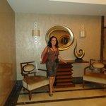 Um  dos espaços sociais do Titanic City Hotel