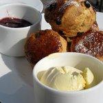 Cornish Cream Tea on the Terrace at Hotel Tresanton