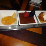 No Sugar Added dessert trio