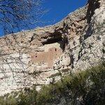 Montezuma Castle in January