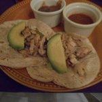 chicken tacos yummy!